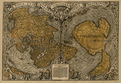 Каталог карт 1531-Orontius-mini
