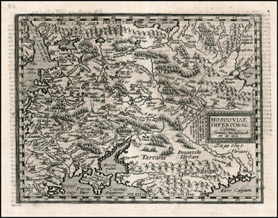 Каталог карт 1600-Matthias-Quad-Moscoviae-Tartaria-mini