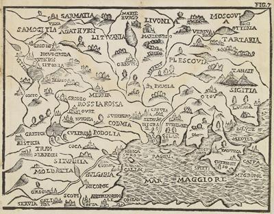 Каталог карт 1660-Antinio-Pisarri-Bologna-Rossaccio-fragment-1-mini