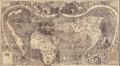 Каталог карт 1507-Waldseemuller-mini